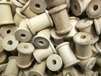 25mm Wooden Spools